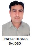 DDEO Iftikhar
